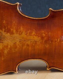 Très Vieux Violon Vintage Étiqueté Stefano Scarampella Geige