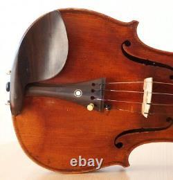 Très Vieux Violon Vintage Labellisé Sanctus Seraphin Violon Geige