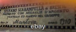 Très Vieux Violon Vintage Labellisé Stefano Scarampella Geige 1306