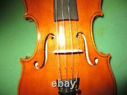 Un Vieux Antique 1993 Vintage J. Dvorak Czech 4/4 Violon-huge Cannonlike Sound