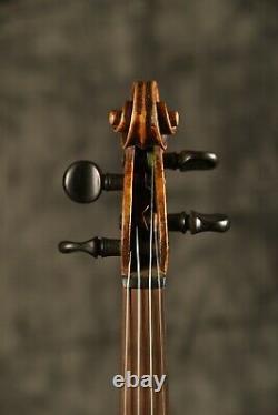 Un Vieux Violon Antique Vintage! Étiqueté Carlo Guadagnini 1814. Écouter L'échantillon
