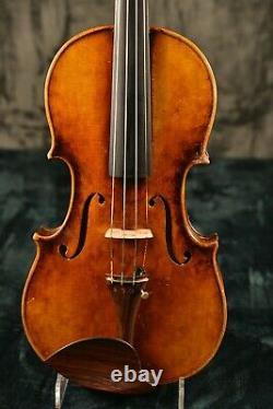 Un Vieux Violon Antique Vintage! Étiqueté Johann Georg Kessler. Écouter L'échantillon