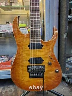 Utilisé Ibanez J. Custom Jcrg7-1 Violon Vintage Mij 7 String Flame Maple Top Hh