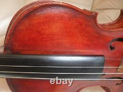 Vieil Antique Violon Écossais Taille Pleine William Gibson Thurso Vient Avec Cas