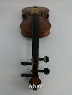 Vieille Violon Stradivarius Replica Hutton School Of Music Glasgow 1950s + Bow