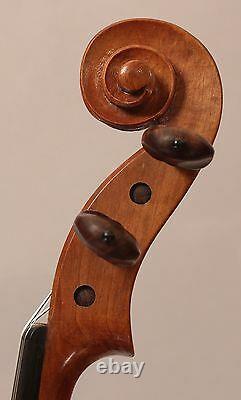 Vieux, Antique, Violon Chinois Vintage 1957 D'un Fabricant Exceptionnel