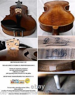 Vieux Maître Violon Tchèque D. Ballý 19ème C Video Antique 752