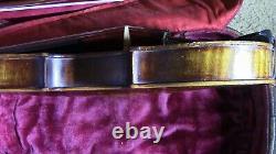 Vieux Violon 4/4 Vieux Violon Ancien Utilisé Gillard Et Ber Nardel