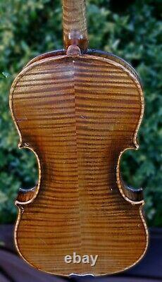 Vieux Violon Allemand Antique-écoutez Video! Modèle Stradivarius, Circa 1900