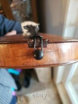 Vieux Violon Antique Début 1800's 4/4 Full Size