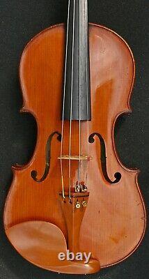 Vieux Violon Français Du 19ème Siècle D'après Andreas Borelli. Écoutez La Vidéo