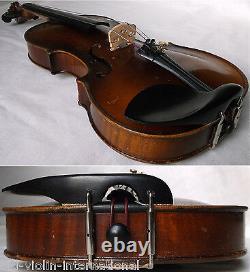 Vieux Violon Tchèque Prokop 1932 Voir Video Antique Violino 876