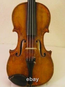 Vieux Violon Vintage Utilisé Dans Un Film Vente De Couleur Or Italien Aide Pbs