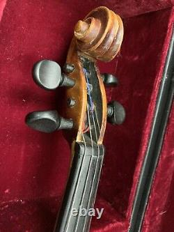 Vintage 1956 Conrad A. Gotz N° 122 4/4 Violon Made In West Germany