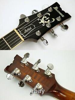 Vintage 1977 Ibanez Artiste 2629 Guitare Électrique Avec Ohsc, Violon Antique #iss9675