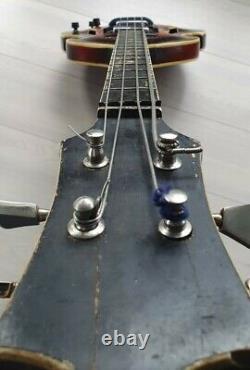 Vintage Guitare Basse Pour Violon Électrique Kremona Bulgarie 70s Hofner Forme
