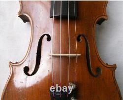 Violin Allemand De La Fine 1920 / 1930 Vidéo Antique Master 274