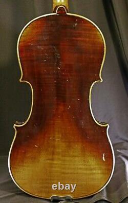 Violine Allemande - Rudolf Dick, Brême 1932, Alerte À La Vidéo