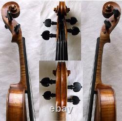 Violine De Maître De Télèche J. LIDL 19e C Video Antique 479