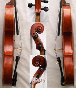 Violine Fine Old Francais Master A Richelme 1885 -vidéo- Antique 163