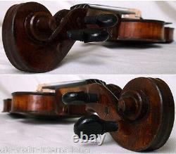 Violine Fine Violine Française Thouvèle Vidéo Antique Violono 854
