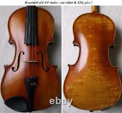 Violine Grande-allemande Master -video Antique Violino 094