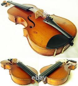 Violine Stradiuarius Fine Old Czech -video- Antique Master Rare 366
