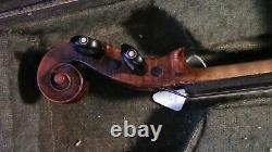 Violon 4/4 Fiddle Old Antique Vintage Used