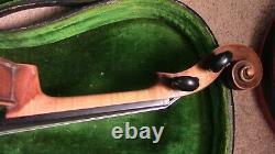 Violon 4/4 Fiddle Old Antique Vintage Utilisé