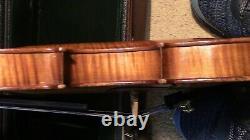 Violon 4/4 Fiddle Old Antique Vintage Utilisé Vuillaume A Paris