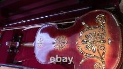 Violon 4/4 Vieux Violon Utilisé Antique Vintage Beau Décor