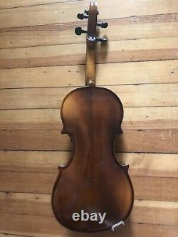 Violon Antique Vintage Avec Cas Dur
