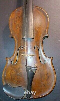 Violon Antique Vintage Pleine Grandeur