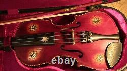 Violon Utilisé 4/4 Fiddle Vieux Antique Vintage Utilisé