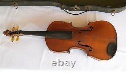 Vtg / Antique Antonius Stradiuarius Faciebat Anno 17 Violon 4/4 Très Nice