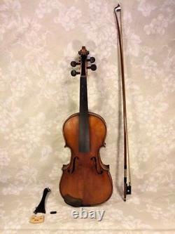 Vtg Francesco Ruggeri Modèle Violon Crémone 1663 Avec Case & Josef Richter Bow